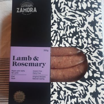 Lamb and Rosemary Sausages – Zamora