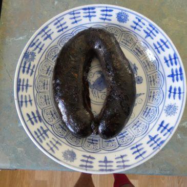 Boudin Noir – Morcilla.   L'Authentique Charcuterie