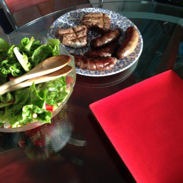Spinach and Pine Nut Sausage