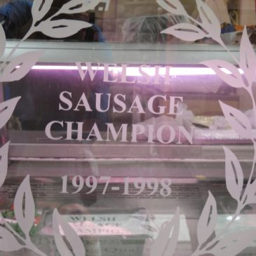 The champion Welsh Sausage – Rawlings Family Butchers, Abergavenny