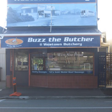 Beef Bangers from Buzz the Butcher.