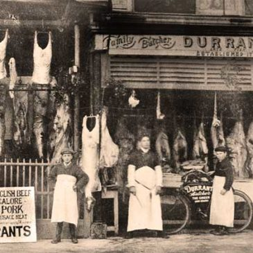 Older Wellington Butchers' shops