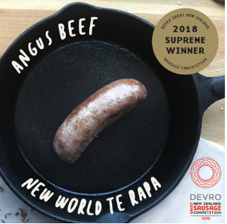 Devro Great NZ Sausage Competition