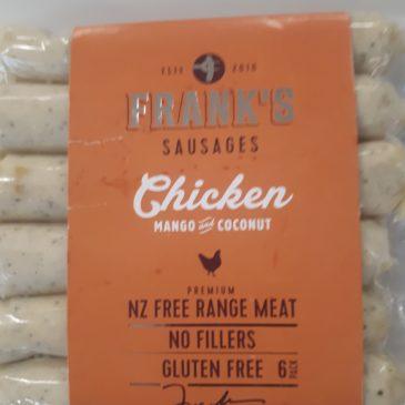 Frank's Chicken Sausages
