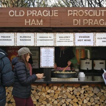 Sausage Boy Reports from Prague