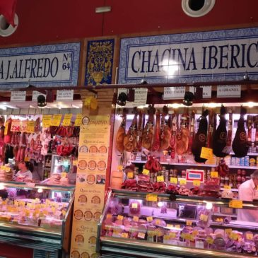 Seville Sausage Shop is visited by Sausage Boy